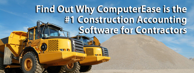 ComputerEase - #1 Contruction Accounting Software