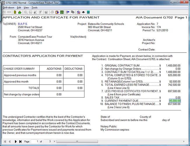 aia invoice form – privatesoftware, Invoice templates